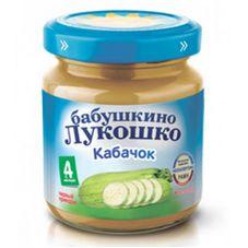 "Пюре Кабачок ""Бабушкино лукошко"" 100 г, 6 б./уп."