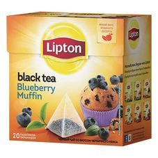 "Чай ""Lipton Blueberry Muffin"" 20 пакетиков"