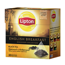 "Чай ""Lipton English Breakfast"" 20 пакетиков"