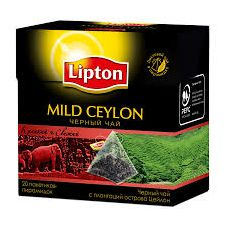 "Чай "" Lipton Mild Ceylon"" 20 пакетиков"