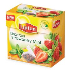 "Чай ""Lipton Strawberry Mint"" 20 пакетиков"