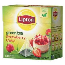 "Чай ""Lipton Strawberry Cake"" 20 пакетиков"