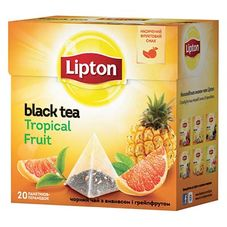 "Чай ""Lipton Tropical Fruit"" 20 пакетиков"
