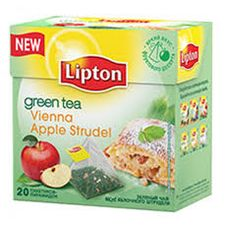 "Чай ""Lipton Vienna Apple Strudel"" 20 пакетиков"