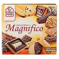 Печенье ассорти FINE FOOD Magnifico, 500 г