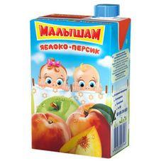 "Нектар ""Малышам"" Яблоко-Персик 0,2 л, 27 шт./уп."