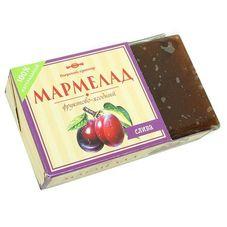 """Мармелад фруктово-ягодный Озерский сувенир натуральный """"Слива"""", 320 г"""
