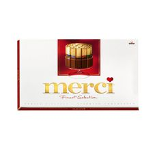 Шоколадные конфеты Merci ассорти, 400 г