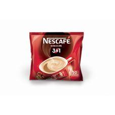 Кофе Nescafe 3 в 1 классический, 50 шт. в упаковке