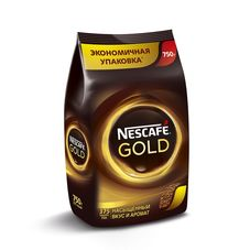 Кофе Nescafe Gold растворимый, 750г