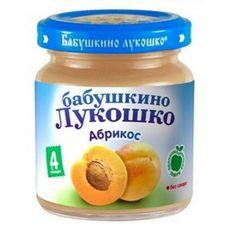"Пюре Абрикос ""Бабушкино лукошко"" 100 г, 6 б./уп."