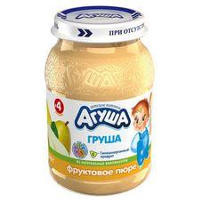 """Пюре фруктовое """"Агуша"""" Груша 200 г, 8 ст.банок/уп."""