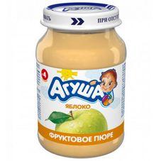 """Пюре фруктовое """"Агуша"""" Яблоко 200 г, 8 ст.банок/уп."""