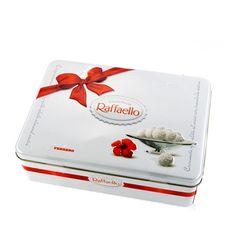 Конфеты Raffaello с миндальным орехом железная банка,  300г