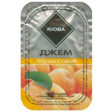 Джем порционный RIOBA абрикос, 20 шт. в упаковке по 20г