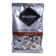 Шоколад RIOBA порционный темный 51%, 800г