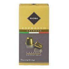 Капсулы кофе Rioba Cremoso 10 капсул/упаковка