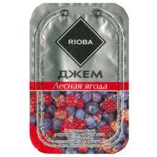 Джем порционный RIOBA лесная ягода, 20 шт. в упаковке по 20г
