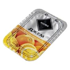 Джем порционный RIOBA апельсин, 20 шт. в упаковке по 20г