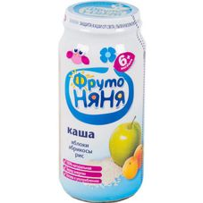 """Каша рисовая """"Фрутоняня"""" Яблоко-абрикос 250 г, 12 б./уп."""