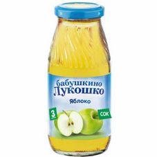 """Сок """"Бабушкино лукошко"""" Яблоко 0,2 л, 6 ст.банок/уп."""