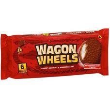 Бисквитное печенье WAGON WHEELS Original
