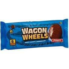 Бисквитное печенье WAGON WHEELS с джемом, 216г