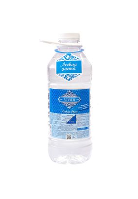 """Легкая питьевая вода """"ViViDi Snow"""" 2 л, 4 шт./упаковка"""