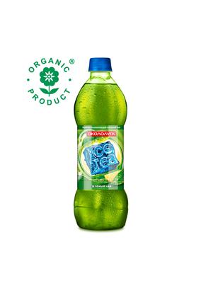 """Холодный чай """"Окололуга"""" зеленый лимонный 0,5 л 12 шт./упаковка"""