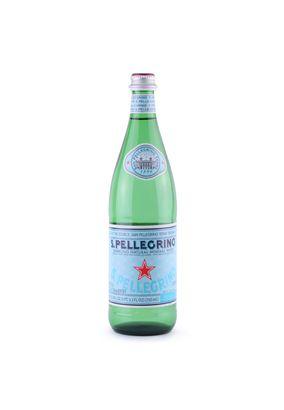 """Минеральная вода """"SAN PELLEGRINO"""" газ стекло 0,75 л, 15 шт./упаковка"""