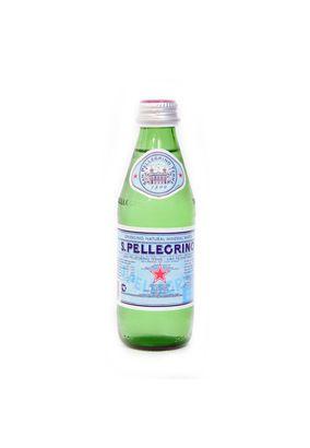 """Минеральная вода """"SAN PELLEGRINO"""" газ стекло 0,25 л, 6 шт./упаковка"""