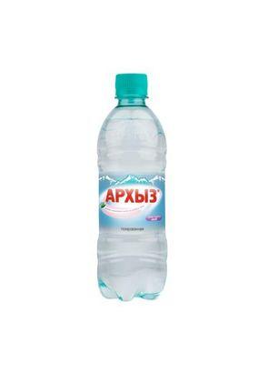 """Минеральная вода """"Архыз"""" газ ПЭТ 0,5 л, 12 шт./упаковка"""