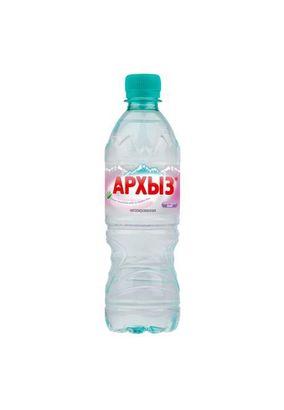 """Минеральная вода """"Архыз"""" негаз ПЭТ 0,5л, 12 шт/упаковка"""