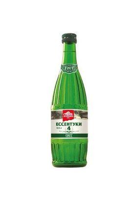 """Минеральная лечебная вода """"Ессентуки-4"""" газ стекло 0,5 л, 20 шт./упаковка"""