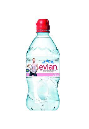 """Минеральная вода """"EVIAN Спорт"""" негаз ПЭТ 0,75 л, 1 шт."""