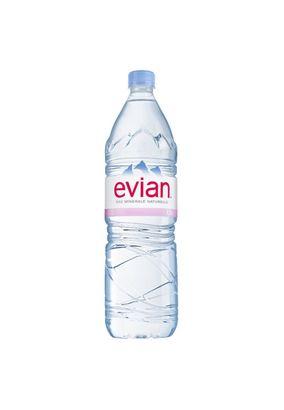"""Минеральная вода """"EVIAN"""" негаз 1,5 л, 6 шт./упаковка"""