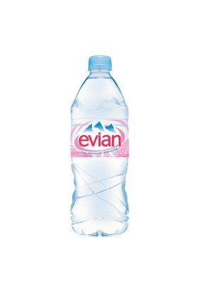 """Минеральная вода """"EVIAN"""" негаз ПЭТ 1 л, 1 шт."""