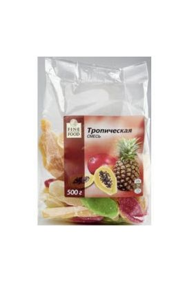 Смесь цукатов тропическая FINE FOOD, 500 г