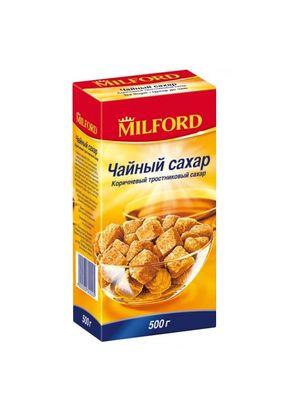 """Сахар """"MILFORD"""" тростниковый коричневый прессованный 500 гр."""