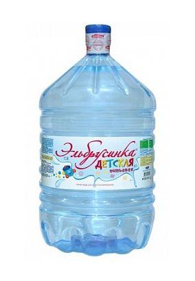 Эльбрусинка Детская Минеральная столовая вода 19л в одноразовой таре