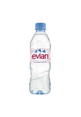 Минеральная вода EVIAN пэт. 0,5л, 1 шт.