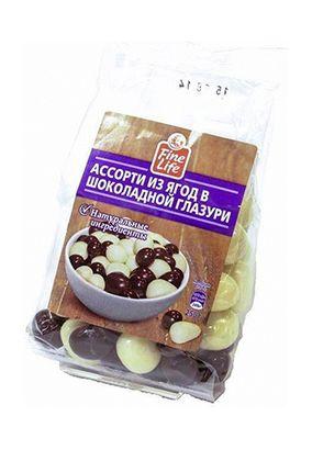 Ассорти FINE LIFE из ягод в шоколадной глазури, 250г