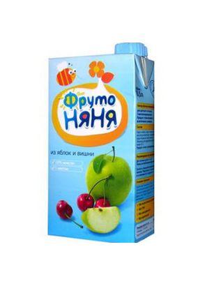 """Нектар """"Фрутоняня"""" Яблоко-вишня с мякотью 0,5 л, 25 шт./уп."""