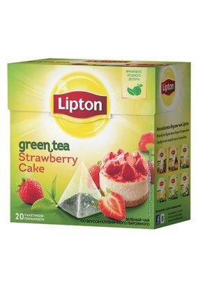 "Чай ""Lipton Strawberry Cake"" 20 пакетиков"