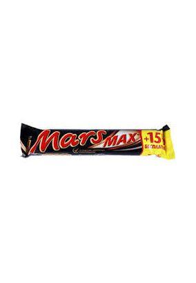 Батончик Mars Max шоколадный +15% бесплатно