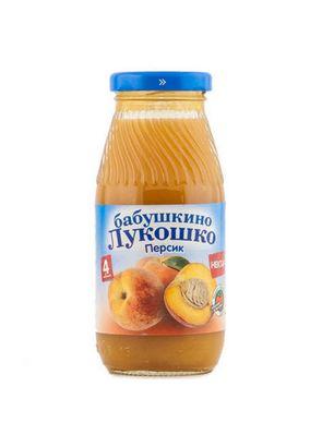 "Нектар ""Бабушкино лукошко"" Персик 0,2 л, 6 ст.банок/уп."