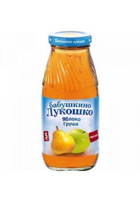 "Нектар ""Бабушкино лукошко"" Яблоко-груша 0,2 л, 6 ст.банок/уп."