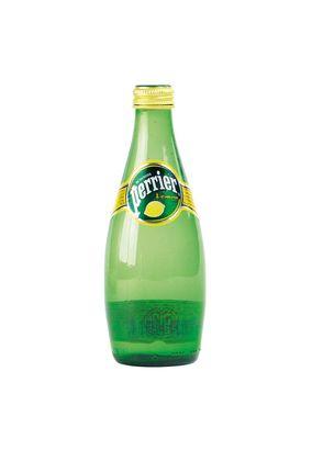 Минеральная вода PERRIER лимон, 0,33 л, 4 шт./уп.