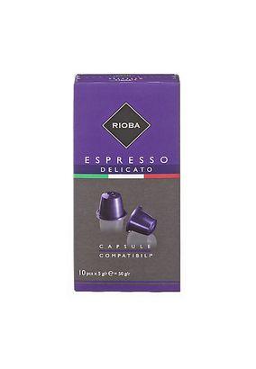 Капсулы кофе Rioba Delicato 10 капсул/упаковка