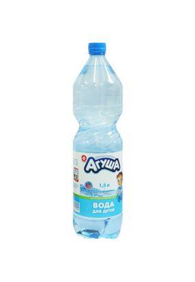 """Вода для детей """"Агуша"""" 1,5 л 6 шт./уп."""